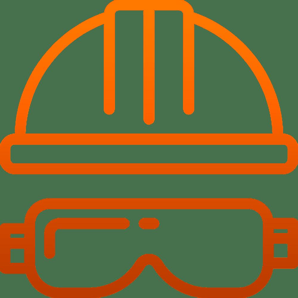 Capacete de segurança para construção